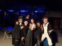 Faust: V. l. Franziska Hayner, Andre Kudella, Maurici Farré, Daniel Sellier, Alexander G. Schäfer